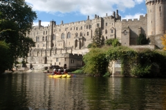 Paddle right by Warwick Castle