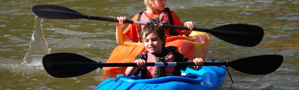 Kayaking for kids