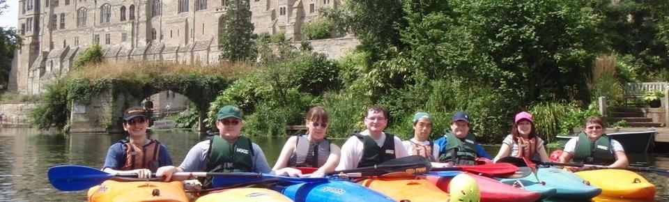 Kayaking for groups